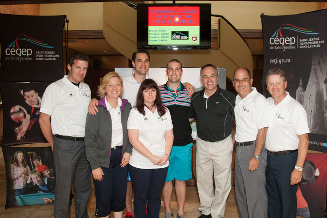 Golfers answer the call of the Cégep Foundation
